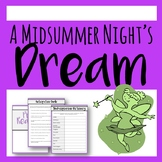 The Ultimate A Midsummer Night's Dream Resource - Activity