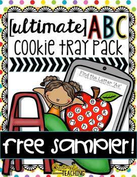 The {Ultimate} ABC Cookie Tray Pack-- FREE Sampler!