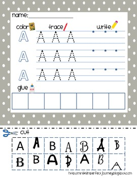 The Ultimate ABC Pack!  Literacy Centers, Small Group, or Independent Practice