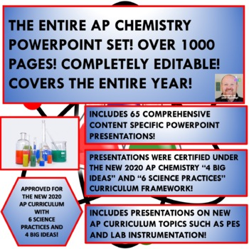 THE ENTIRE AP CHEMISTRY POWERPOINT SET - FOR THE ENTIRE YEAR!