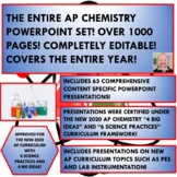 THE ENTIRE AP CHEMISTRY CERTIFIED LABORATORY SET - FOR THE ENTIRE YEAR!