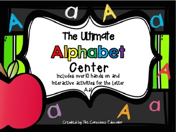 The Ultimate Alphabet Center: Aa