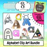 The Ultimate Alphabet Clip Art Growing Bundle