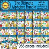 Ultimate Alphabet Clip Art Bundle