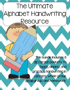 The Ultimate Alphabet Handwriting Resource (Writing the Alphabet)
