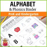 The Ultimate Alphabet and Phonics Binder - Preschool and Kindergarten