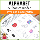 The Ultimate Alphabet and Phonics Binder - Preschool and K