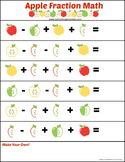 The Ultimate Apple Math Printables Pack