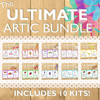 Articulation Cards Bundle: 10 Products!