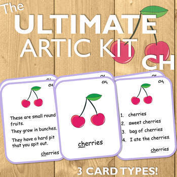 Articulation Cards for CH: The Ultimate Artic Kit!