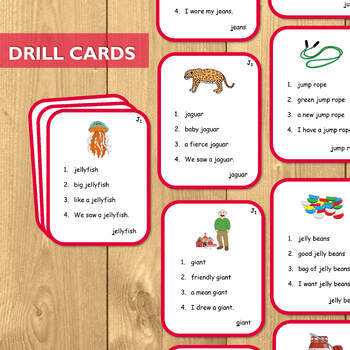 Articulation Cards for J: The Ultimate Artic Kit!