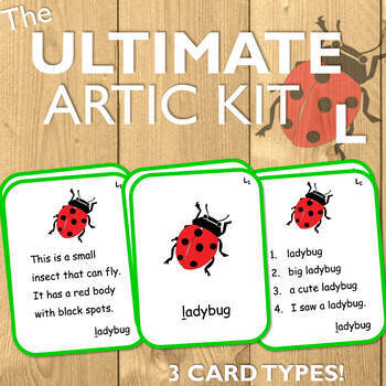 Articulation Cards for L: The Ultimate Artic Kit!