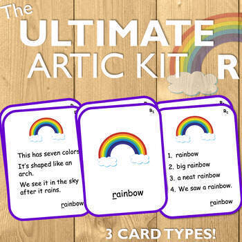 Articulation Cards for R: The Ultimate Artic Kit!
