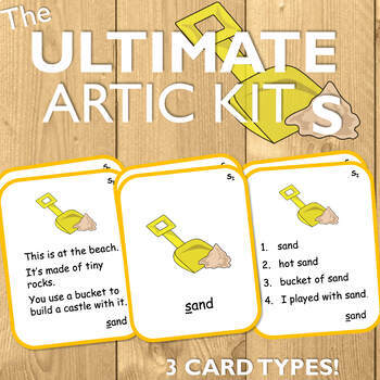 Articulation Cards for S: The Ultimate Artic Kit!