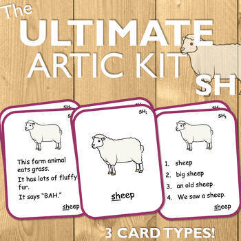 Articulation Cards for SH: The Ultimate Artic Kit!
