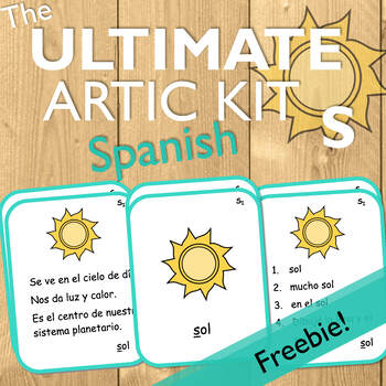 The Ultimate Artic Kit: Spanish S Freebie!