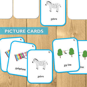 Articulation Cards for Z: The Ultimate Artic Kit!