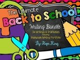 The Ultimate Back to School Writing Bundle: 6 Writing Projects & Craftivities