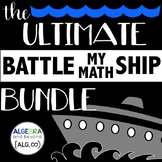 The Ultimate Math Activity BUNDLE - Battle My Math Ship