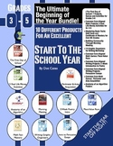 The Ultimate Beginning of the Year Bundle! 10 Different Products for Gr. 3-5