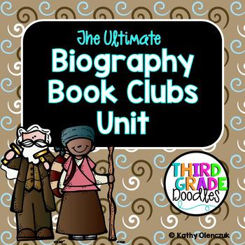 Biography Book Clubs Unit -- Grade 3 CCS