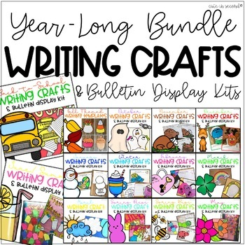 The Ultimate Bulletin Board Writing Craft Bundle SAVE $