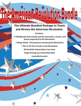 The American Revolution. Ultimate Bundle of Printables to
