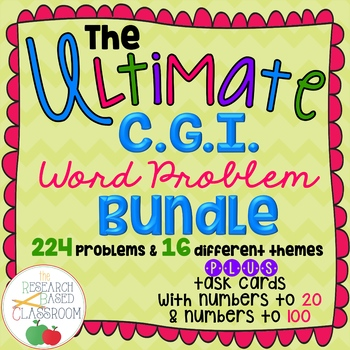 The Ultimate CGI Word Problem Bundle