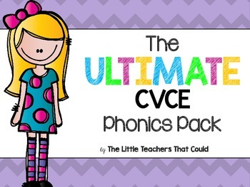The Ultimate CVCE Phonics Pack