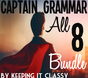 The Ultimate Captain Grammar Bundle:8 Readers' Theater Scripts and Prezis