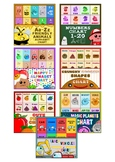 The Ultimate Charts BUNDLE: Alphabet, Numbers, Shapes, Fruits...