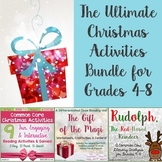 Christmas Activities for Middle School Bundle