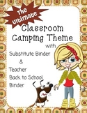 The Ultimate Classroom Camping Theme with Sub Binder & Tea