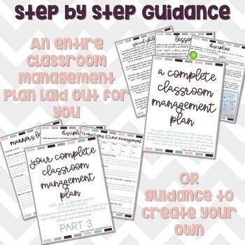 Classroom Management Plan Bundle