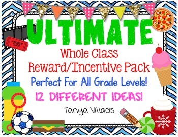 The Ultimate Classroom Reward/ Incentive Pack PERFECT FOR BEHAVIOR MANAGEMENT
