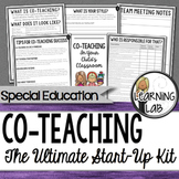 Special Education Co-Teaching Start-Up Kit (Inclusion)