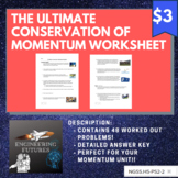The Ultimate Conservation of Momentum Worksheet