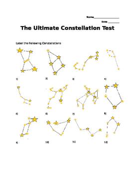 The Ultimate Constellation Quiz