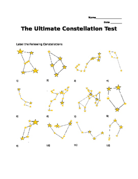 The Ultimate Constellation Quiz
