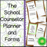 School Counselor Planner and Forms Paisley