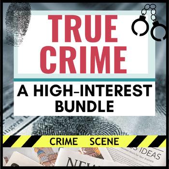 The Ultimate Crime Bundle- Criminals, Serial Podcast, Lizzie Borden, & MORE!