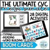 The Ultimate Digital CVC Bundle - Boom Cards Distance Learning