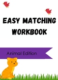 The Ultimate Easy Match Workbook: Animal Edition
