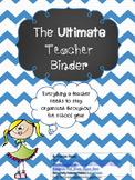 The Ultimate {{Editable}} Teacher's Book