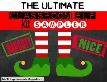 The Ultimate Elf in the Classroom Kit (FREEBIE)