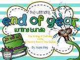 The Ultimate End of Year Writing Bundle: 5 Writing Activities & Craftivities
