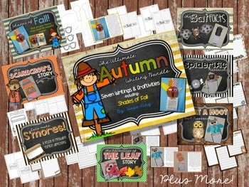 The Ultimate Fall Writing Bundle: 7 Writing Projects & Craftivities
