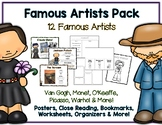 The Ultimate Famous Artists Pack - Posters, Close Reading