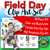 The Ultimate Field Day Clip Art for Physical Education and Health