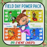 Field Day Power Pack- 80 Event Cards